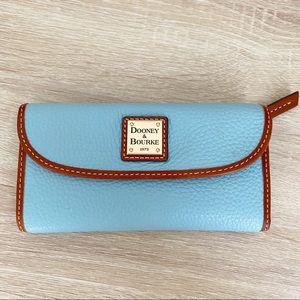 Dooney & Bourke Bags - Dooney & Bourke blue leather Wallet